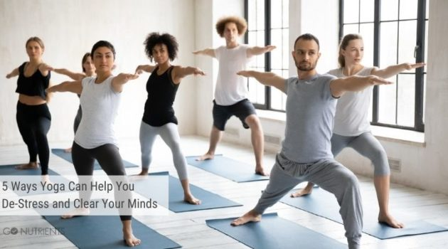 Yoga for de-stressing and clearing your mind